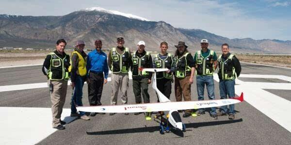 U.S.A Sandoval Silver State SeederArtificial rainfall UAV
